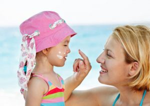средства для защиты от солнца для детей