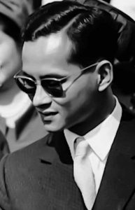 Пхумипон Адульядет в молодости
