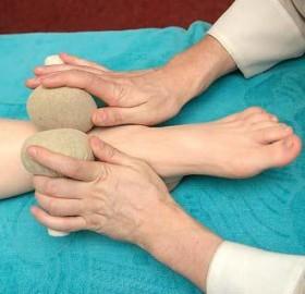 массаж ноги после снятия гипса