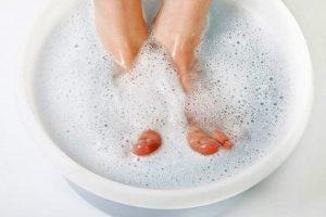 ванночки для ног в домашних условиях