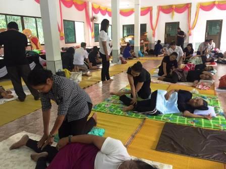как делают массаж в тайланде