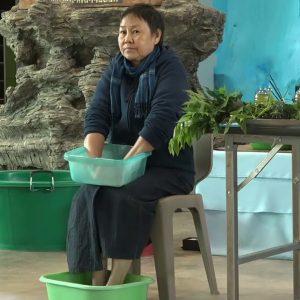 травяные ванны для рук и ног