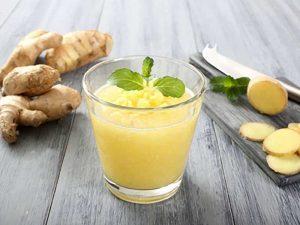 напиток с имбирем и лимоном для похудения