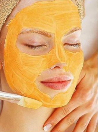 маска из куркумы для лица от морщин