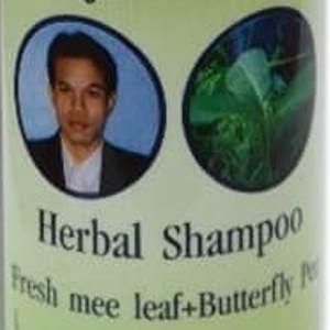тайский шампунь с мужиком fresh mee leaf butterfly pea