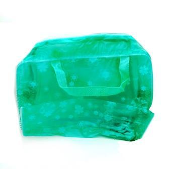 зеленая сумочка для душа